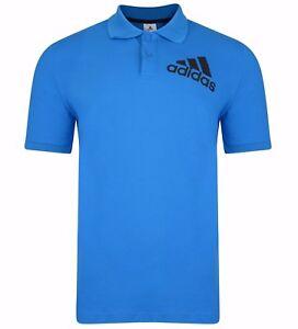 Logo Nouveau Cotton Homme Polo ShirtBleu Polo Adidas bf7yg6