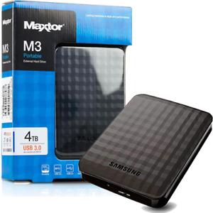 HARD-DISK-ESTERNO-2-5-USB-3-0-4TB-4000GB-MAXTOR-SEAGATE-SAMSUNG-AUTOALIMENTATO
