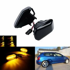 2x Dynamic Led Side Marker Light Amber For Hondaacura Rsx Integra Dc5 2002 2006 Fits Rsx