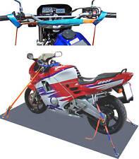Motorrad Zurrsystem komplett/ Spanngurt/ Zurrgurt Motorradsicherung (2)