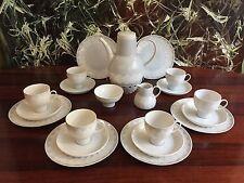 ROSENTHAL Lotus grigio, 22 teiliges servizio da caffè 6 Persone - Bjorn Wiinblad