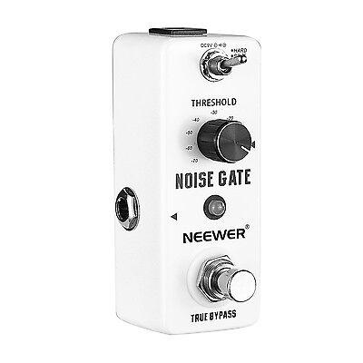 neewer aluminium alloy noise killer guitar noise gate suppressor effect pedal 696554333994 ebay. Black Bedroom Furniture Sets. Home Design Ideas