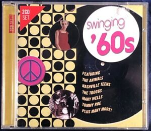 Various-Artists-Swinging-039-60s-2CD-Album-in-VG-Condition