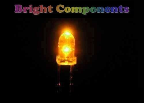 1st CLASS POST Ultra Bright 50 x Yellow LED 3mm