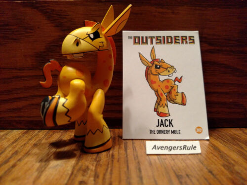 The Outsiders Vinyl Mini-Figure Series By J.Led Kidrobot Jack