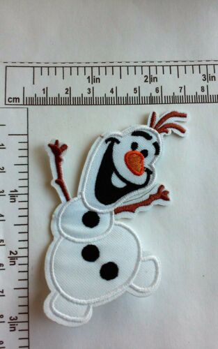 Olaf  Iron On//Sew On Patch USA Seller Frozen