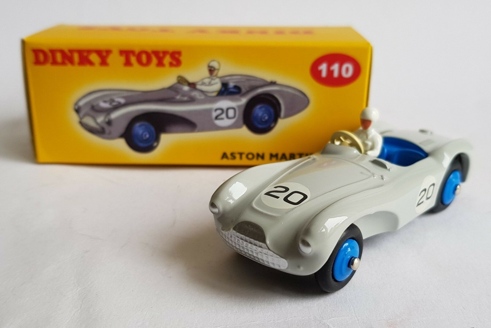 DeAgostini   Dinky Toys No. 110, Aston Martin DB 3S, - Superb Mint.