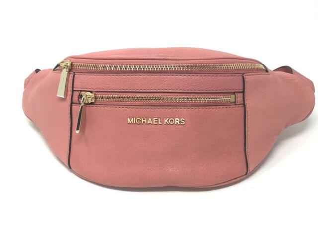 Michael Kors Medium Leather Belt Bag Rose 30h8toxn6t