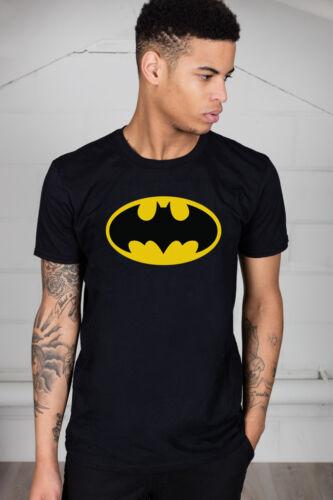 Officiel batman logo unisexe t-shirt dc comics licence merch robin les chauves-souris