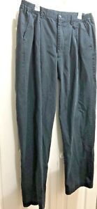 Navy-Blue-King-Size-Big-amp-Tall-Side-Elastic-Ranger-Casual-Pants-36x35-034-Cotton