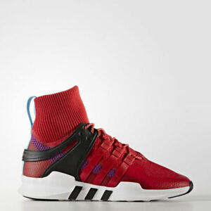 ebeb0ff87028 Image is loading Adidas-Originals-EQT-Support-ADV-Winter-Red-Weatherproof-