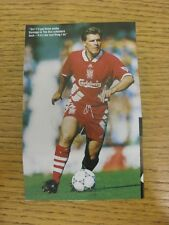 """1990's Autograph: Liverpool - Molby, Jan [Hand Signed Magazine Image, Approx 3""""x"""