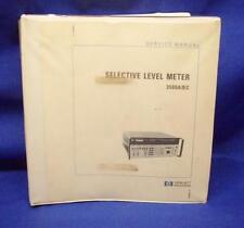 Hp 3586abc Selective Level Meter Service Manual