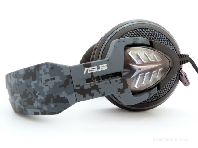 ee59cc0d8a8 ASUS Echelon Navy Gaming Headset Camouflage with retractable microphone