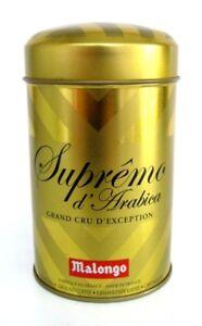Malongo Supreme D 'arabica Grand Crue Café Moulu 250 G Golddose-afficher Le Titre D'origine