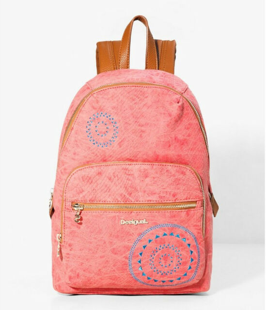 affordable price wide varieties huge discount Desigual Bols Lima Calypso Coralina, Women's Backpack Backpack Bag