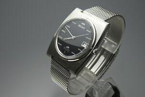 Vintage-1969-JAPAN-SEIKO-LORD-MATIC-CALENDAR-5605-7030-25Jewels-Automatic
