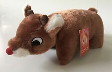 b67b1b8d9b106 50th Anniversary Rudolph The Red Nosed Reindeer Clarice Pillow Pet Plush