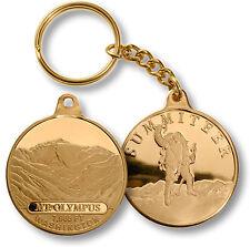 Mt. Olympus / Summiteer - Washington - MerlinGold Challenge Coin Key Chain