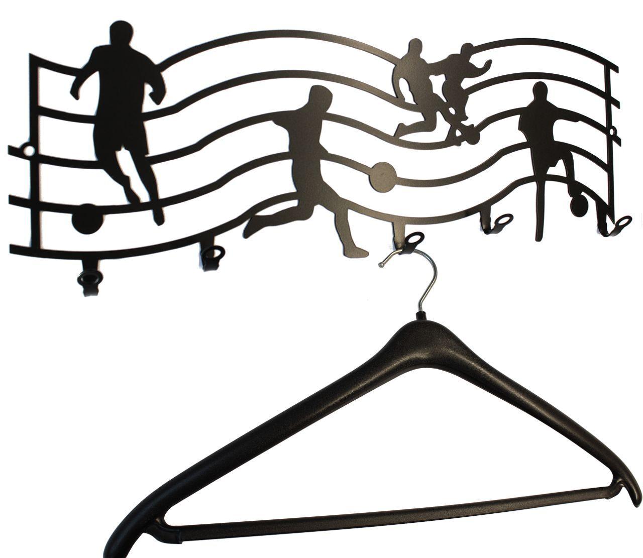 Wandgarderobe   Garderobe  Fussball Liga  - Garderobenhaken - Flurgarderobe | Lassen Sie unsere Produkte in die Welt gehen