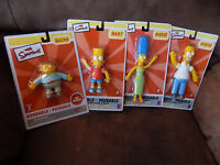 The Simpsons Bendable Poseable Figures
