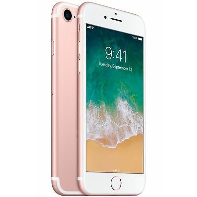 Apple iPhone 7 - 32GB - Rose Gold (Factory GSM Unlocked; AT&T / T-Mobile)