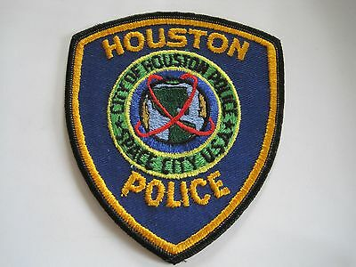 Law Enforcement Collector Patch Houston Police TX Texas
