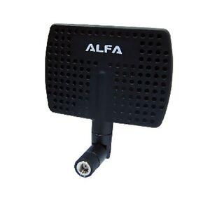 AWUS models Alfa 2.4 GHz 7dBi RP-SMA Panel Screw-On Swivel Antenna for Alfa