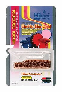 Hikari Betta Bio-Gold Color Enhancing Fish Food 2.5g