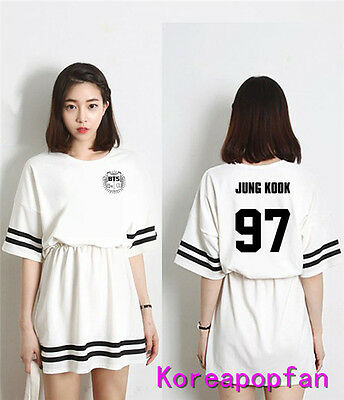 BTS Kpop Jung kook jimin jin suga v jhope Bangtan Boys women dress Kpop New