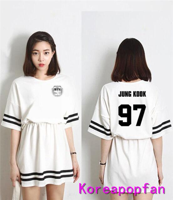 BTS Kpop Jung kook jimin jin suga v jhope Bangtan Boys women dress Kpop New