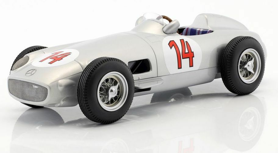 IScale 118009 1180 10 118014 MERCEDES F1 Model Cars Moss Fangio Kling 1955 1 18