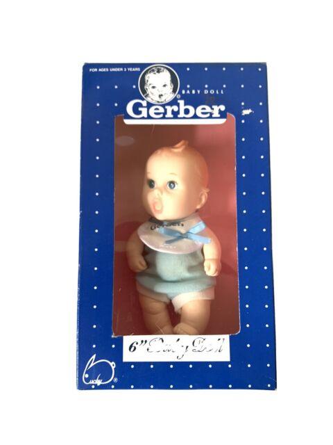 "Vintage 1991 Gerber Products 6"" Baby Boy Vinyl Doll #59106 ..."