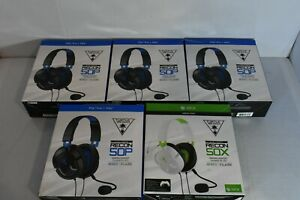 Lot-of-5-Turtle-Beach-Recon-50P-50X-Gaming-Headsets-Multi-Platform-PS4-Xbox-One