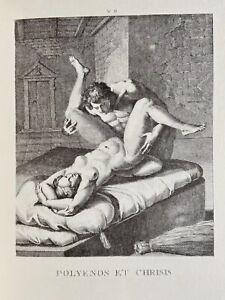 Agostino Carracci erotico vagina pene atto erezione antichi chryseis Greece Love