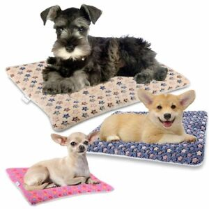 Pet-Bed-for-Dog-Cat-Crate-Mat-Soft-Warm-Pad-Liner-Home-Indoor-Outdoor-Cute-Print