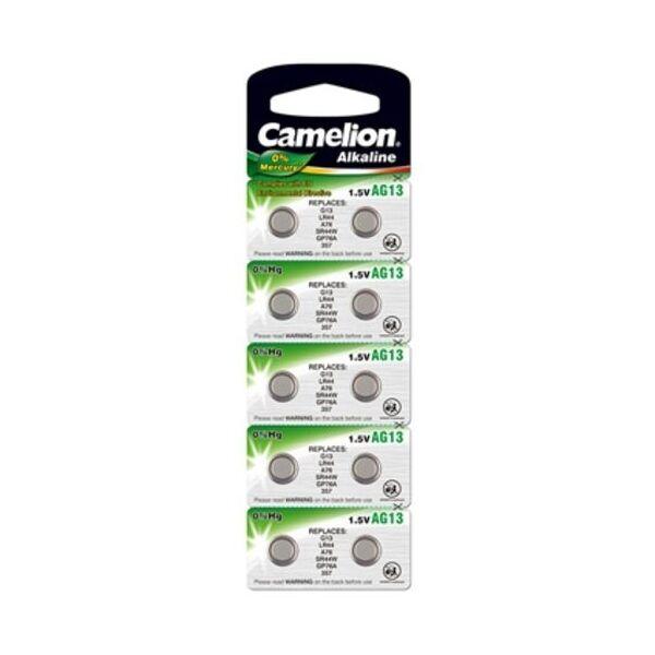 PROMOCIÓN PRECIO CASSE Pilas/batería botones AG 13/LR44/LR1154/357 Camelion