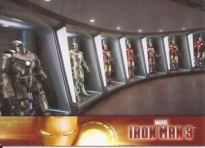 2013-Marvel-IRON-MAN-3-Complete-SET-1-60-Upper-Deck-Movie-Trading-Cards