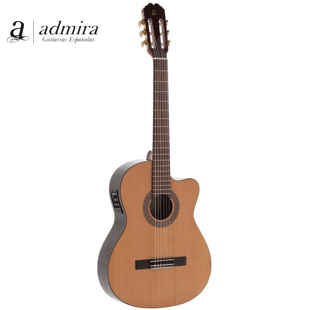NEW Admira VIRTUOSO ECF Cutaway Acoustic Electric Classical Guitar MADE IN SPAIN