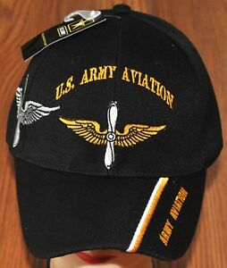 New US Army Aviation Branch Hat Ball Cap Veteran Military Pilot ... 8c981a161f9