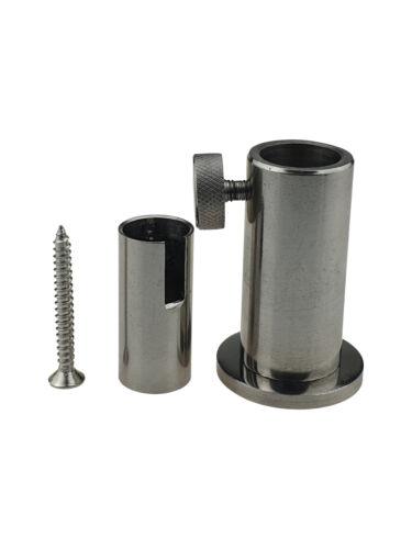 16mm STAGE STAND Steghalterung ... DUO EDELSTAHL FLATDECK Stabilisator 12mm