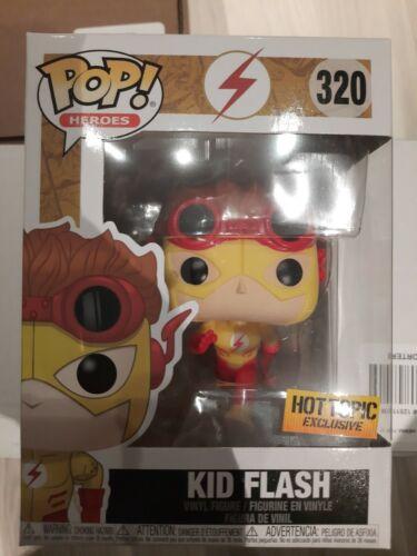 Funko Pop Kid Flash Hot topic Exclusive 320