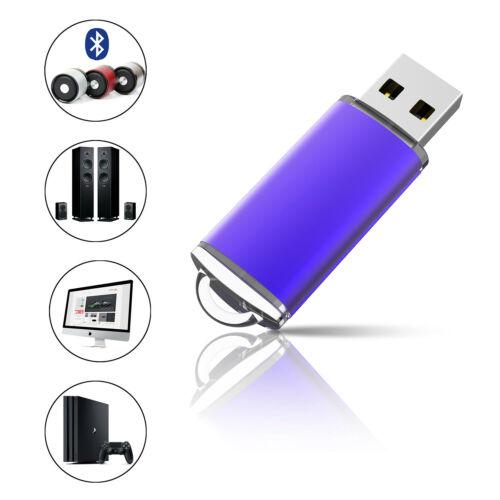 10PCS 32GB Flash Drives Memory Sticks USB 2.0 Thumb Pen Drives Enough Storage