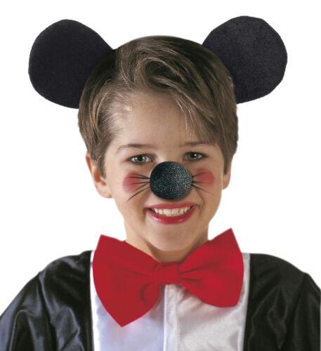 HERR MAUS OHREN HAARREIF # Mausohren Reif Samt Mouse Comic JGA Kostüm Party 9434