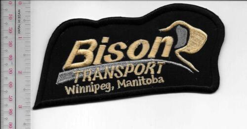 Vintage Trucking /& Van Lines Canada Bison Transport Winnipeg Manitoba black