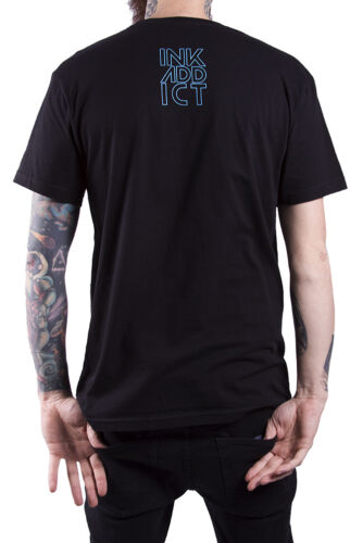 NEW WITH TAGS InkAddict GALAXY Tee Shirt BLACK MEDIUM-3XLARGE LIMITED RELEASE