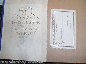 17335 50 Jahre Georg Jacob G.m.b.h. Leipzig 1877-1927 Sperrfedern Aufzugshebel