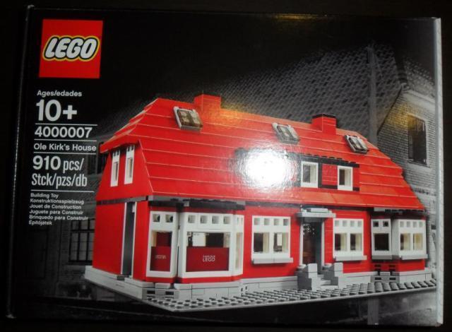 nouveau Lego 4000007 Ole Kirk's House Sealed   dans les promotions de stade