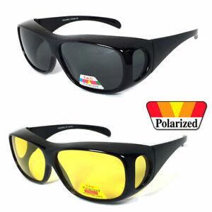 621af51127b88 Image is loading Medium-Sunglasses-OVER-Prescription-Glasses-Fit-Over- POLARIZED-