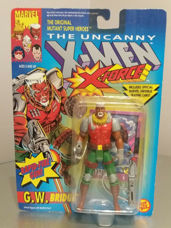 Nuevo Vintage G.W Puente X-men X-force Marvel Figura De Acción Sellados 1992 Juguetebiz